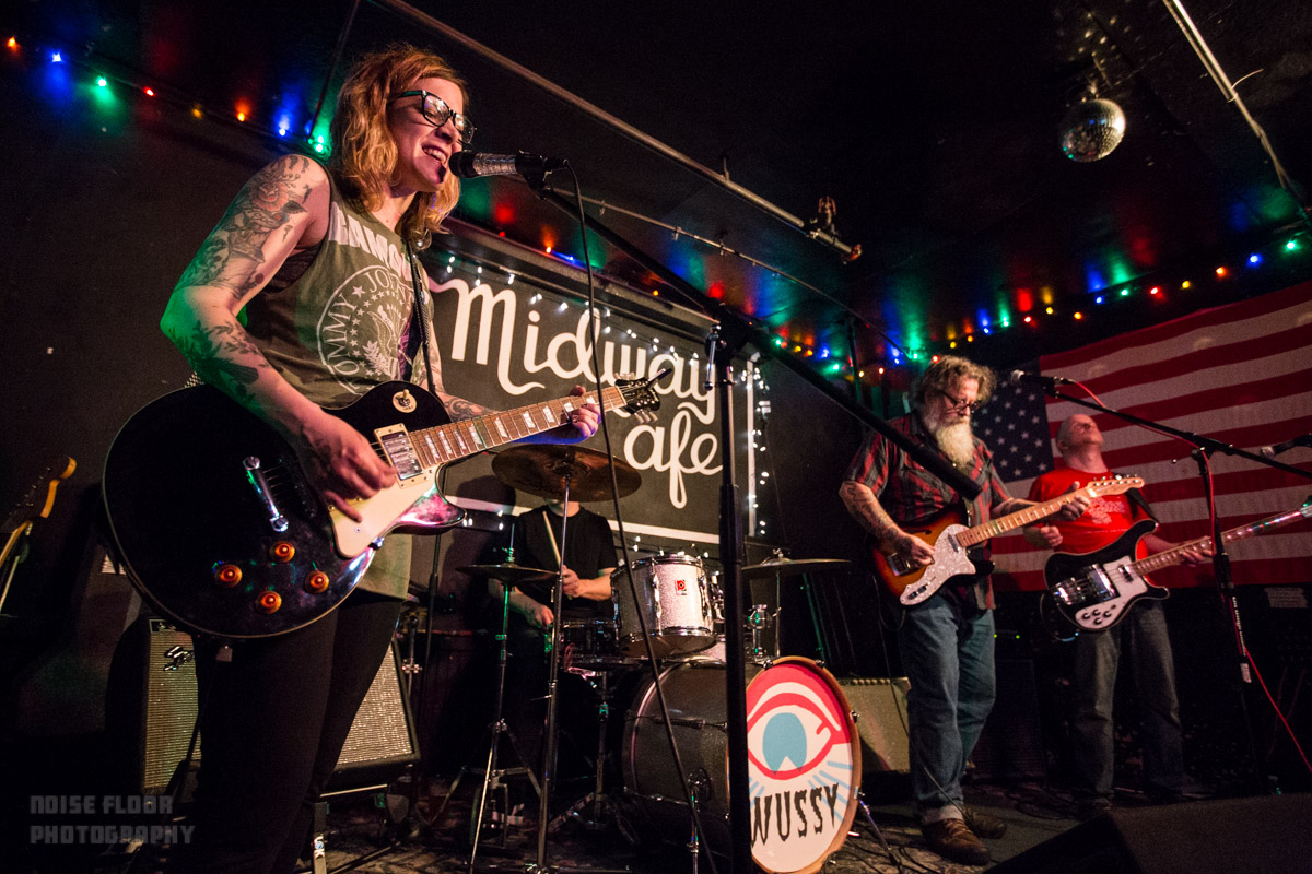 Wussy and Thalia Zedek Band played Midway Cafe – 4/2