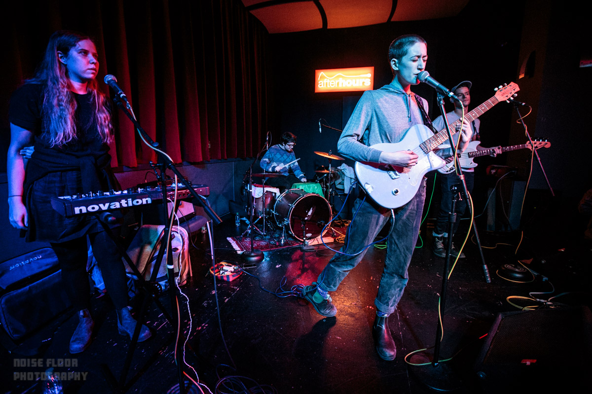 Frankie Cosmos played afterHours at Northeastern University – 1/26