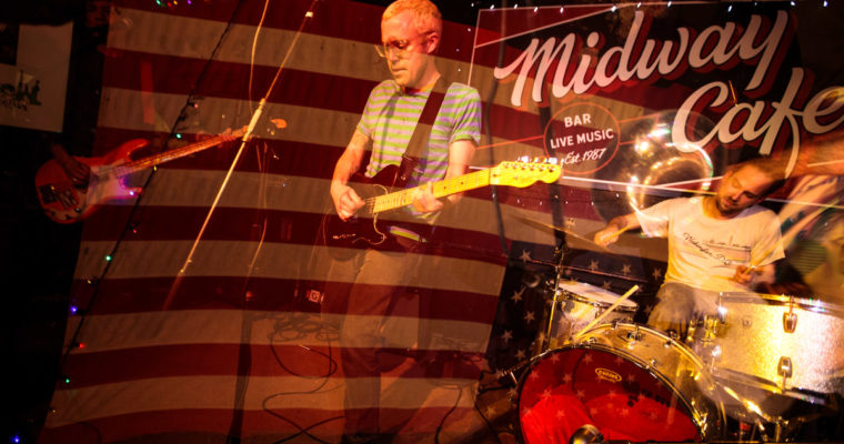 Nana Grizol played the Midway – 3/27