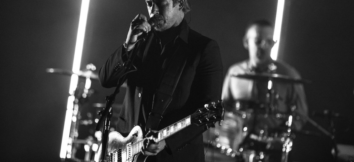 Interpol played the Orpheum – 9/11