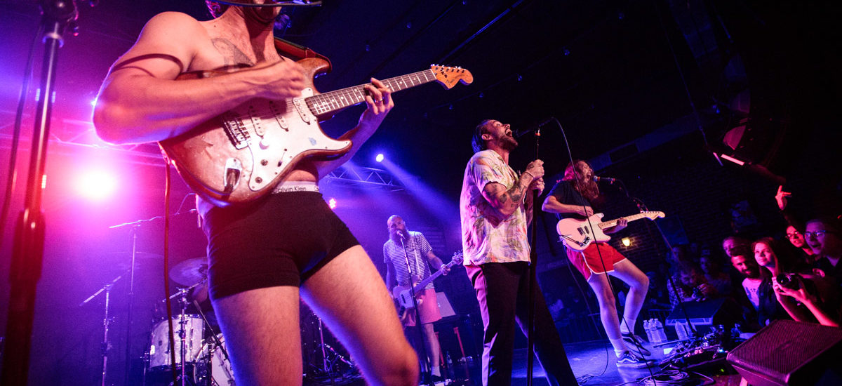 Idles played Brighton Music Hall – 9/20